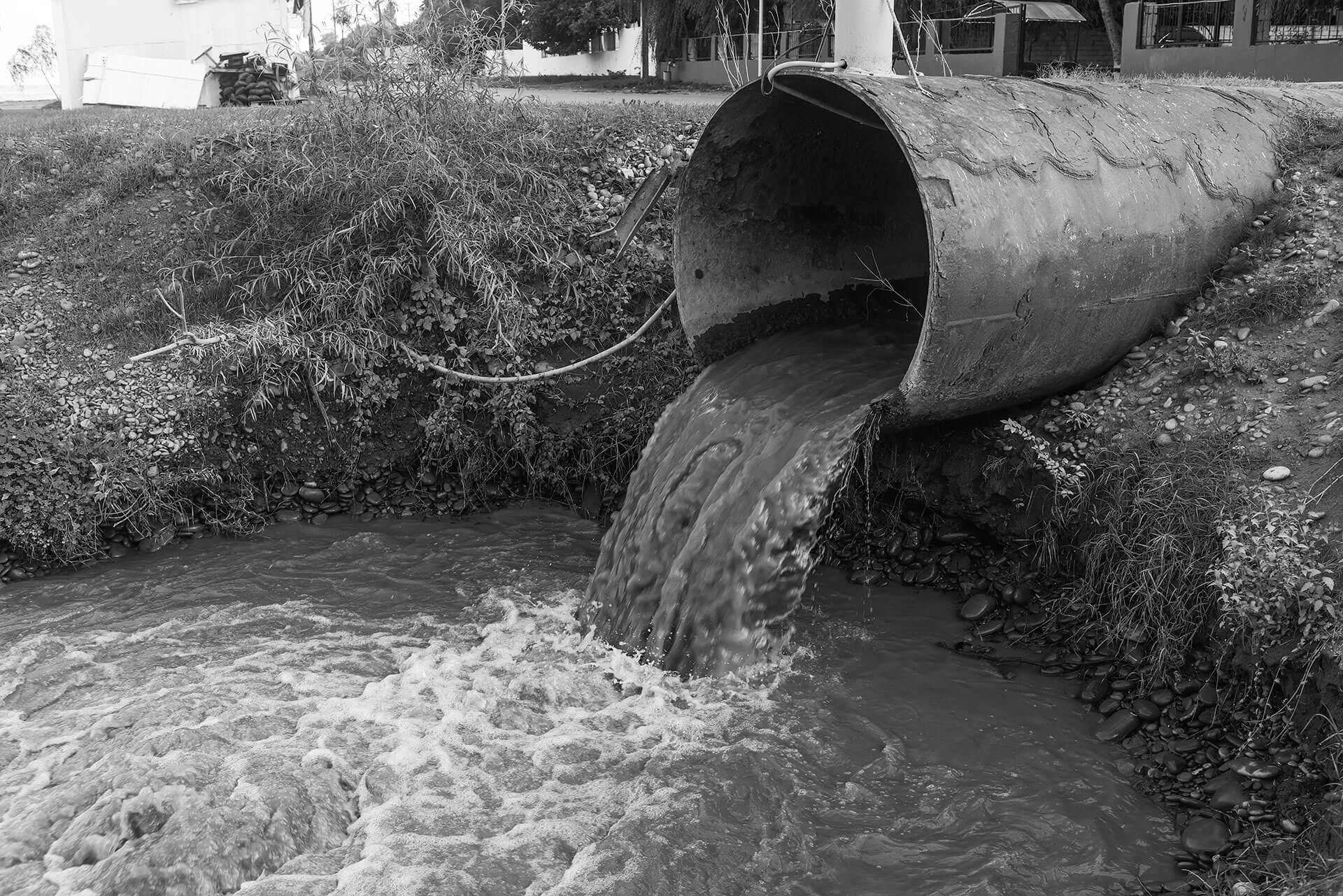 riool afvalwater